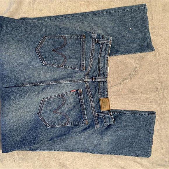 Levis 515 Womens Boot Cut Stretch Denim Jeans 18M